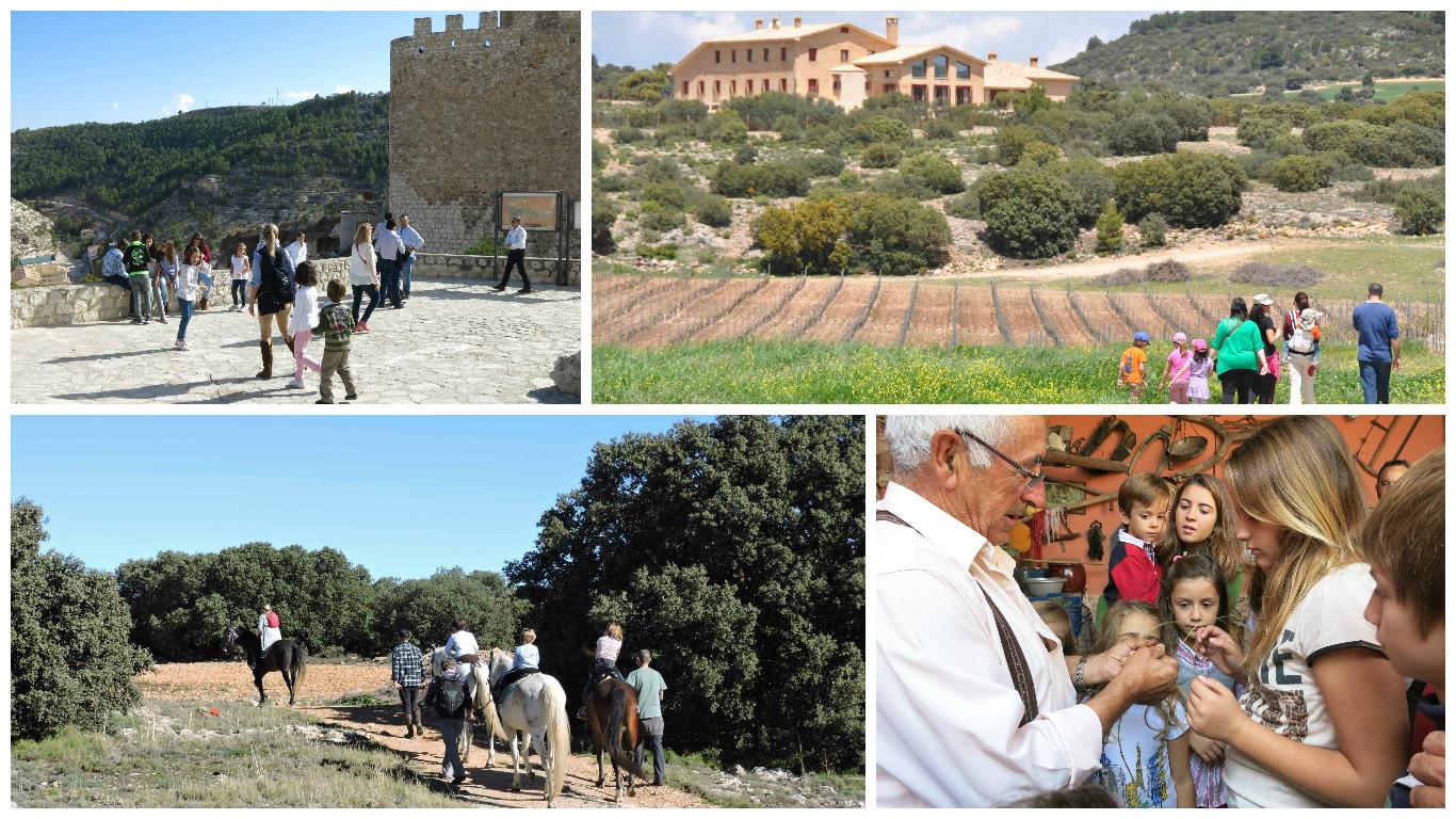 Actividades, escursiones, hostal rural el sahuco, turismo rural, grupos organizados, escapadas de fin de semana